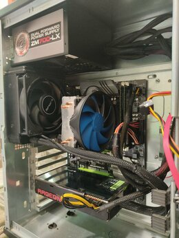 Настольные компьютеры - Игровой пк (R9 Fury X/16gb/8 ядер) + Периферия, 0
