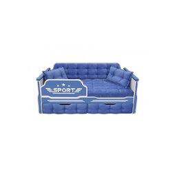 Кроватки - Кровать-диван для мальчиков СПОРТ с двумя ящиками, 0