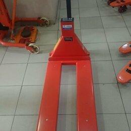 Грузоподъемное оборудование - Тележка гидравлическая с весовым механизмом, 0