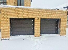 Архитектура, строительство и ремонт - Секционные гаражные ворота, 0