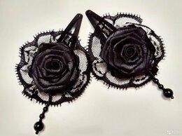 Аксессуары для волос - Заколки для волос с розой, 0