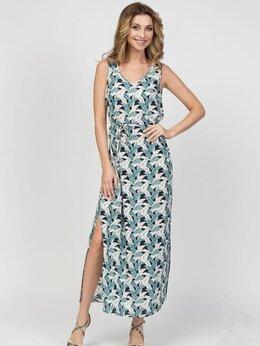 Платья - Летний женский сарафан - хлопок, вискоза, 0