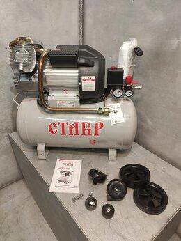 Воздушные компрессоры - Компрессор масляный СТАВР КМК-50-2400, 0