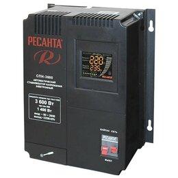 Стабилизаторы напряжения - Стабилизатор напряжения РЕСАНТА СПН-3600, 0