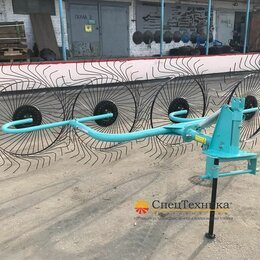 Навесное оборудование - Грабли ворошилки 4 колесные Wirax, 0