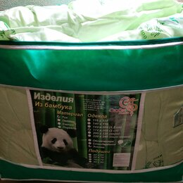 Одеяла - Одеяло зимнее 600 гр. бамбук 2сп. 172*205 новое, 0