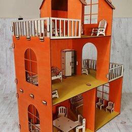 Аксессуары для кукол - Кукольные домики разных размеров., 0
