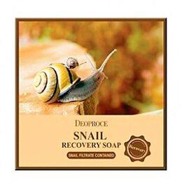 Очищение и снятие макияжа - Натуральное очищающее мыло Deoproce Recovery Soap, 0