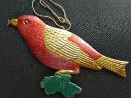 Ёлочные украшения - ✓✓✓Ёлочная игрушка редкая «Птица Клёст».  12×6…, 0