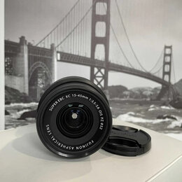 Объективы - Объектив Fujifilm XC 15-45mm f/3.5-5.6 OIS PZ , 0