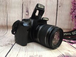 Фотоаппараты - Фотоаппарат Canon EOS 450D Kit, 0