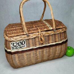 Корзины, коробки и контейнеры - Корзина плетеная сумочка большая, 0