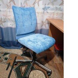 Компьютерные кресла - Компьютерное кресло СН-330 голубой, 0