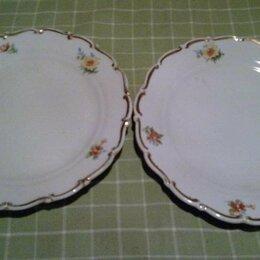Тарелки - Две тарелки. Дулево 1955 г., 0