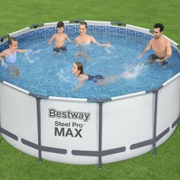 Бассейны - Каркасный бассейн Steel Pro Max Bestway (арт.56420), 0