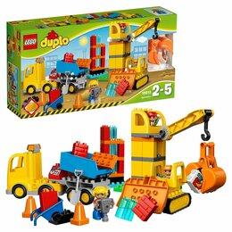 Конструкторы - LEGO DUPLO 10813 Большая стройплощадка, 0