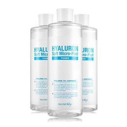 Для проблемной кожи - Гиалуроновый тонер с эффектом микро-пилинга…, 0