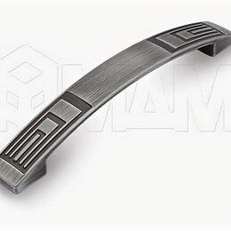 Комплектующие - Ручка-скоба 128мм серебро полированное: UR2709/128, 0