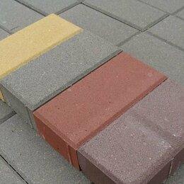 Тротуарная плитка, бордюр - Брусчатка 100х200 мм, 0