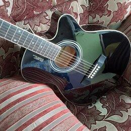Акустические и классические гитары - Очень красивая глянцевая гитара , 0