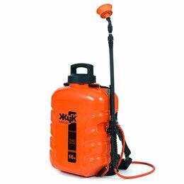 Электрические и бензиновые опрыскиватели - Опрыскиватель Жук 16л аккумуляторный .ранцевый, 0