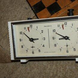 Часы настольные и каминные - часы шахматные , 0