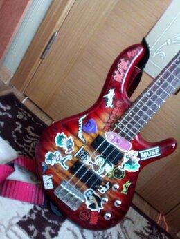 Электрогитары и бас-гитары - Бас-гитара Cort CBP-DLX-CRS Плюс чехол и провод, 0