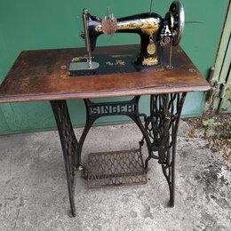 Швейные машины - Швейная машина «SINGER» ножная, 0