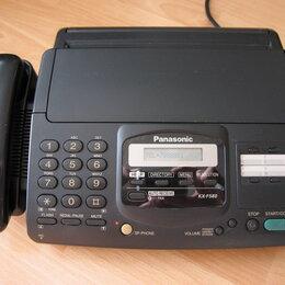 Факсы - Телефон Panasonic KX-F580 факс рабочий отличный, 0
