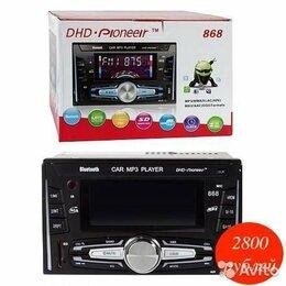 Музыкальные центры,  магнитофоны, магнитолы - Автомагнитола Pioneer 868 2DIN, 0