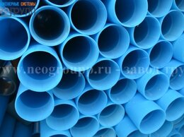 Водопроводные трубы и фитинги - Обсадная труба ПНД D117мм ГОСТ, 0