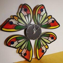 """Часы настенные - Часы """"Крылья бабочки"""", 0"""