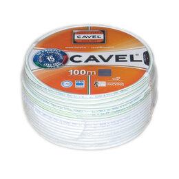 Кабели и разъемы - Коаксиальный кабель Cavel Sat 703B Италия, 0