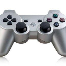 Аксессуары - Джойстик для PS3 серебряный, 0