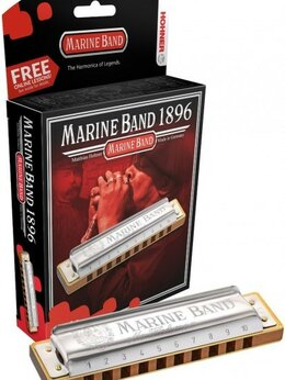 Губные гармошки - Hohner M1896106X Marine Band 1896/20 A Губная…, 0