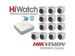 Камеры видеонаблюдения - Комплект HiWatch на 13камер 2Mxp с микрофоном, 0