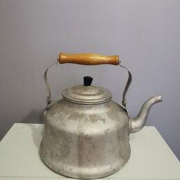 Чайники - Чайник алюминиевый винтаж СССР клеймо смз 4л, 0