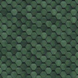 Кровля и водосток - ТЕХНОНИКОЛЬ Гибкая черепица,Финская,Соната Зеленый 3 м2, 0