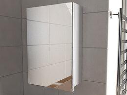 Шкафы, стенки, гарнитуры - Шкаф с зеркалом в ванную Emmy Вэла 50, 0