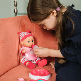 Куклы и пупсы - Кукла-пупс озвученный с аксессуарами, звук, PVC, текстиль, 30см, 4 дизайна, 0