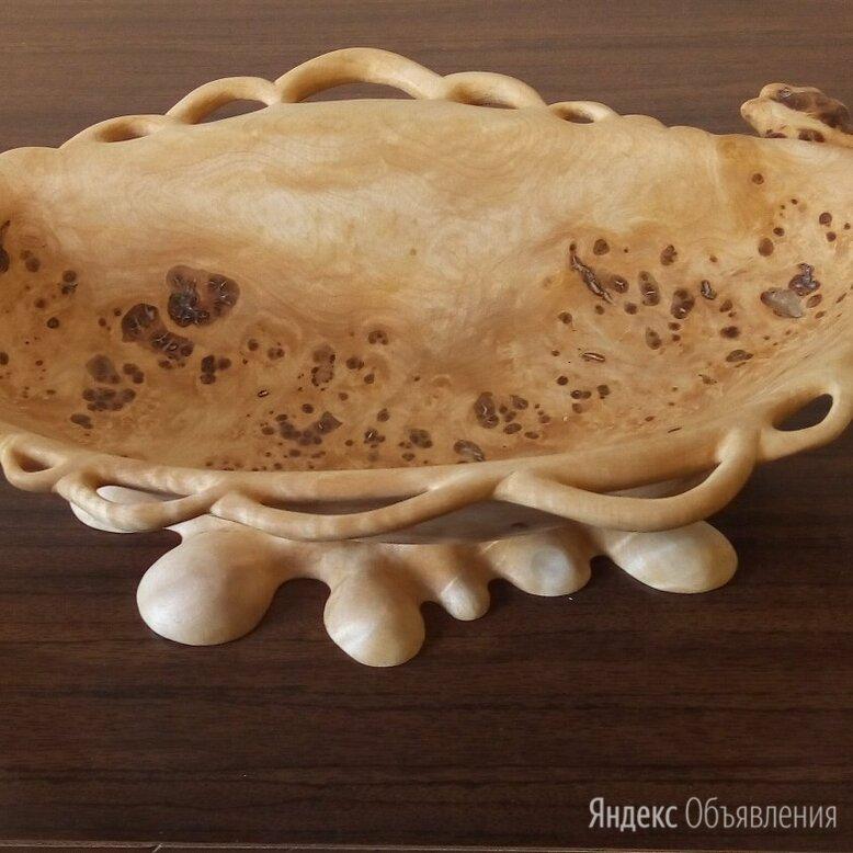 Чаша из берёзового капа по цене 6000₽ - Декоративная посуда, фото 0