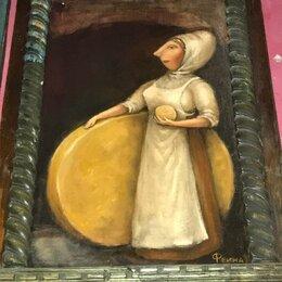 """Картины, постеры, гобелены, панно - Феина картина """" Старинный сыр"""", 0"""