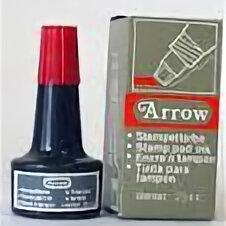 Краски - Краска штемпельная ARROW 23мл арт6004 черн  /240/12/, 0