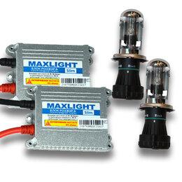 Уличное освещение - Комплект би-ксенона MaxLight Slim 9-16V H4 4300,…, 0