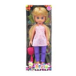 Куклы и пупсы - Кукла девочка 35 см с расческой Devik, 0