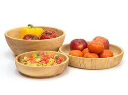 Тарелки - Набор посуды из кедра «Большой», 0