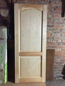 Дверные коробки - Дверь, сосна, новая, 0