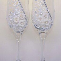 Бокалы и стаканы - Бокалы для молодожёнов, 0