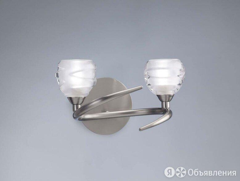 Бра Mantra Loop Satin Nickel 1815 по цене 7454₽ - Люстры и потолочные светильники, фото 0