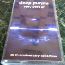 Музыкальные CD и аудиокассеты - DEEP PURPLE - Very Best Of -1998 - 4960672 / EMI / Europe - EX+ - Аудиокассета, 0